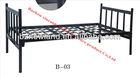 cheap ikea steel single bed,morden metal bed furniture,iron bedroom design furniture set B-03