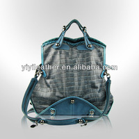 1771 2014 Fashion Trends Tote Bags,Genuine Leather Shoulder Tote Handbag,Crocodile Handbags for lady