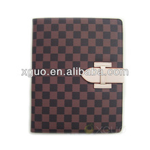 for leather ipad cases and covers Magnetic smart cover for new ipad luxury pattern