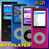 8GB 1.8&quot; 4TH FM MP3 MP4 player