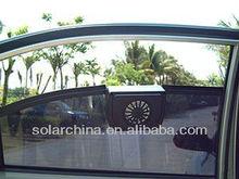 Hot sale solar fan for car, auto cool solar car fan