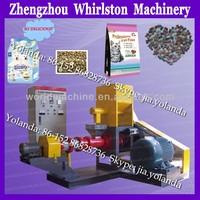 complete floating fish pellet food make machine/pellet making machine