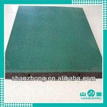 safe rubber flooring tile