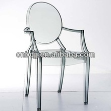 plastic replica philippe starck color victoria wedding crystal perspex clear polycarbonate stacking louis ghost chair sale