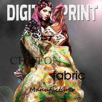 Garment digital print silk fabric --X8003