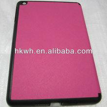 Stand PU leather case for ipad mini case OEM ODM for iPad Mini