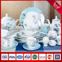 New wave in-glaze fine china porcelain dinnerware sets (SHZ3652)