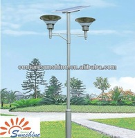 Terrific solar garden light for lawn outside 0.7W
