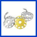 2014 vendas direto da fábrica pulseira jóias de aço inoxidável made in china