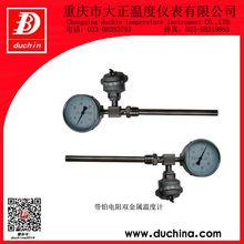 Bimetallic Thermometer with RTD