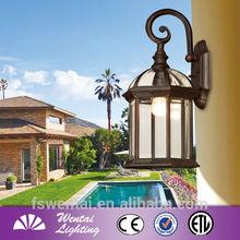 40-100W Antique Brass Main Gate Lights Outdoor Wall Light