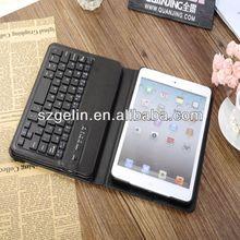 2014 for ipad mini bluetooth keyboard case for mini ipad