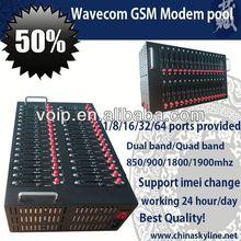 GSM MODEM POOL 32 port GSM bulk sms modem pool gsm module tc35