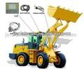 Tractor pala pesan escala/cargadora de ruedas con un peso de la escala digital