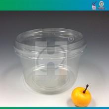 Dispoable Plastic 16 oz Clear Plastic Round Deli Container