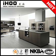 AK102 European style wooden kitchen furniture modern design