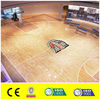 professional basketball court wood flooring