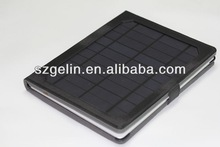 2013 newest solor charger bluetooth keyboard case for ipad mini