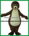 Bonne visuellesimple adulte, lion de mer costume costume de mascotte lion de mer