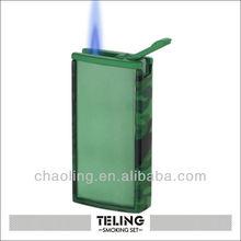 Green Lighter Cricket Promotion