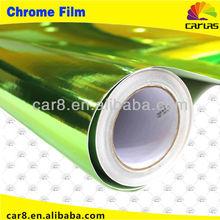 Car Color Changing Vinyl Film Chrome Wheel Chrome Car Wrap Vinyl Film/Size: 1.52 M Width by 30 M Length