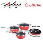 7PCS Aluminum Non-stick cookware