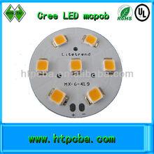 MCPCB manufacturer cree LED PCBA