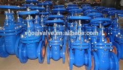 DIN3352 PN10/16 cast iron non rising stem gate valve