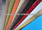 Synthetic leather for handbag material,crocodile leather(GX-8009)