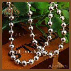 Fashion metal ball chain 4inch