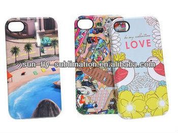 3D sublimation Phone case / 3D sublimation mobile cover/ 3D sublimation cell phone case