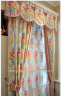 New pattern beautiful latest designs of curtains valance
