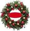 2015 new PVC Christmas wreath Christmas garland