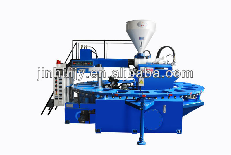 2014 hot-sell PVC Jelly and air blowing shoe making machine(20 workstations)