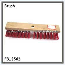 Red PVC High Quality bathroom floor brush