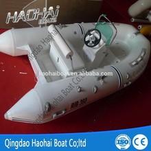 11.8ft 3.6m inflatable fiberglass fishing sport boat for sale