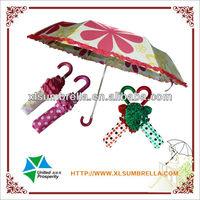 """21"""" ladies parasols paraguas flower lace fashion umbrella"""