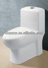 Sanitaryware cheap one piece siphon western toilet bathroom wc water closet ZZ-HZ-9951