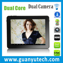 IPS screen 9.7 inch Dual-Core 1.6GHZ capacitive touch anroid 4.1 table pc