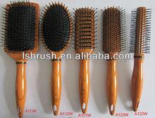 colorful hair brush