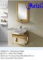 modern wall hung salle de bains en chêne rustique