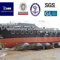 Dia1.5mx15m garantía 2 años caucho marinos globo para el lanzamiento de nave