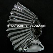 American Indian Crystal iceberg Figurines