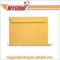 brown kraft recycled envelope