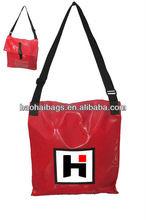 Tarpaulin shoulder bag