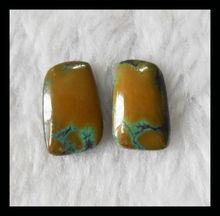 Turquoise Cabochon Pairs precious stone