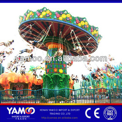 Top Fun! Theme Park Rides 40 seats Rotating Flying Chair Rides