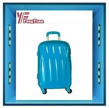 2014 china alibaba Hardshell colourful travel trolley luggage