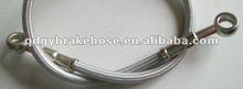 stainless steel rear brake hose assembly