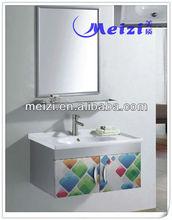 Romantic Stailess Steel bathroom vanity storage